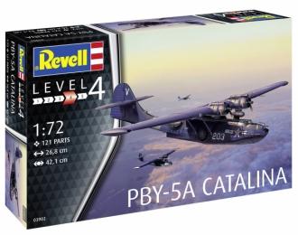 Сборная модель Патрульный противолодочный самолет PBY-5A Catalina