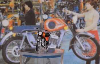 Иж Планета-Спорт мотоцикл (оранжевый)