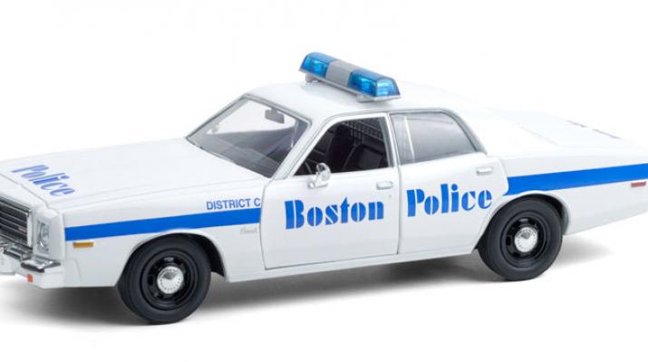 "DODGE Coronet ""Boston Police Department Massachusetts"" 1976"