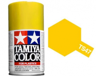 TS-47 Chrome Yellow (Хромированный желтый) аэрозольная краска, 100 мл. (в баллоне)