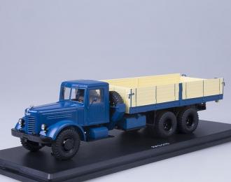 ЯАЗ 210 бортовой, синий
