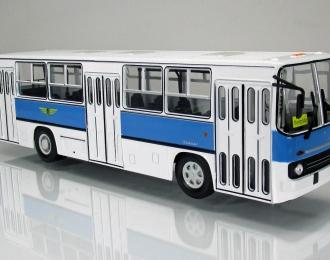 """IKARUS 260 """"Dresdner Transport"""" 1990 White/Blue"""