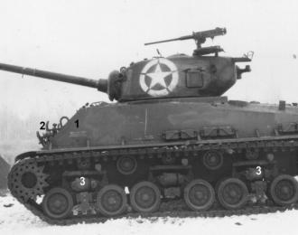 M4A3 (76mm) Sherman (США), 1944 год, ТАНКИ Легенды Мировой бронетехники 19