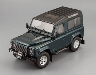 LAND ROVER Defender 90, antree green with black roof