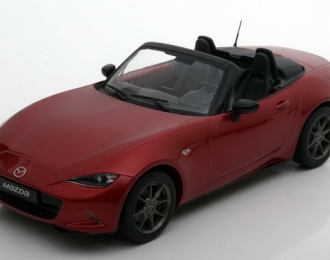 Mazda MX-5 with removable soft top 2015 (no opening doors), L.e. 480 pcs. (red)