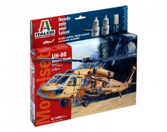 Сборная модель UH 60 Desert Hawk (подарочный набор)