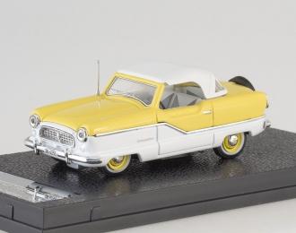 NASH Metroplitan Coupe (1959), yellow / white