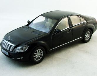 MERCEDES-BENZ S-Klasse W221, Суперкары 80, черный