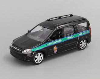 LADA Largus Пограничная служба ФСБ, black