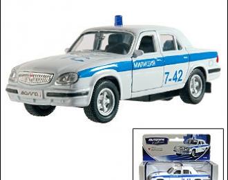 Горький 31105 Полиция, белый
