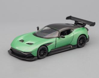 ASTON MARTIN Vulcan, light green / black