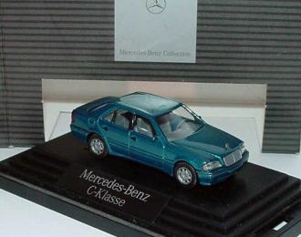 Mercedes-Benz C200 Facelift (W202) 1997 зеленый металлик