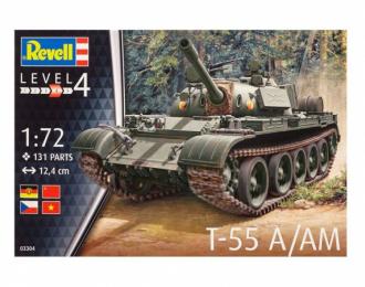 Сборная модель Танк T-55 A/AM