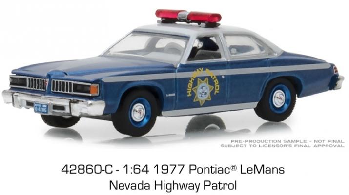 "PONTIAC Le Mans ""Nevada Highway Patrol"" 1977"