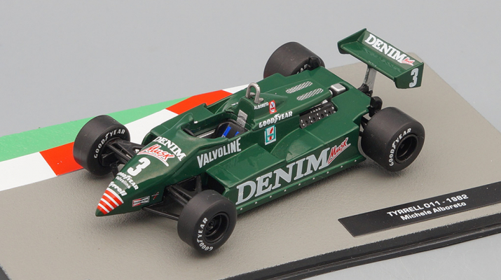 TYRRELL 011 Микеле Альборето (1982), Formula 1 Auto Collection 29