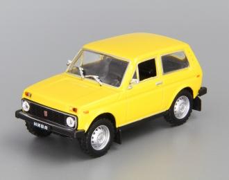 ВАЗ 2121 Нива, Автолегенды СССР 10, желтый