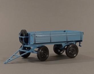 прицеп ИАПЗ-754В (диски ZIL-130), голубой