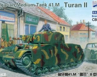 Сборная модель Hungarian Medium Tank 41.M Turan II