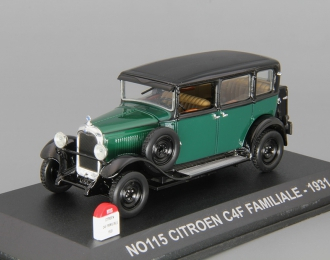 CITROEN C4F Familiale (1931), green / black