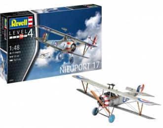 Сборная модель Французский истребитель Nieuport 17