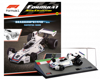 BRABHAM BT44B Карлуса Пасе, Formula 1 Auto Collection 50