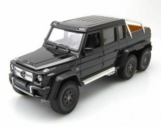 MERCEDES-BENZ AMG G63 6x6 2014 черный