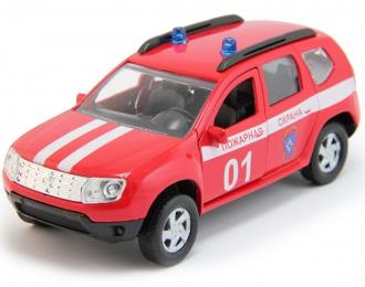 RENAULT Duster Пожарная Охрана, red