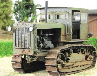 Сталинец С-65 с кабиной, запыленный