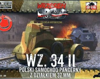 Сборная модель Польский бронеавтомобиль WZ.34 II