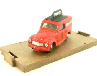 FIAT 500 C Furgone Commerciale Ramazzotti (1949), Serie a nanna dopo Carosello, red