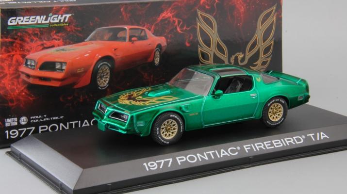 PONTIAC Firebird Trans Am 1977 Firethorn Red (Greenlight!)