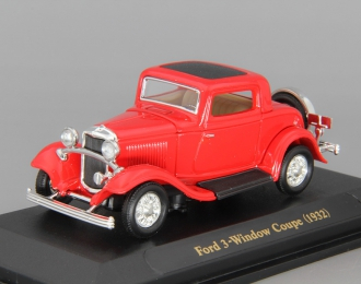 FORD 3-Window Coupe (1932), red