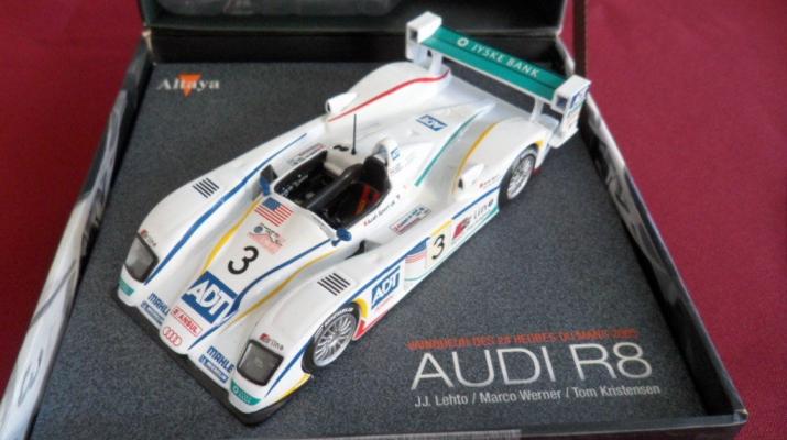AUDI R8 #3 JJ.Lehto - Marco Werner - Tom Kristensen Le Mans (2005), white