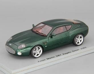 ASTON MARTIN DB7 Zagato Coupe, green