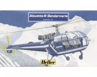 Сборная модель Вертолет  Алуэтт III