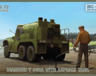 Сборная модель Diamond T968A Asphalt Tank
