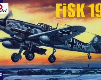 Сборная модель Немецкий истребитель-бомбардировщик Fisk-199