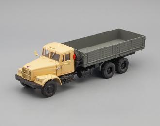 КРАЗ 257Б (1969-1977), бежевый / серый