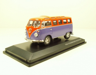 VOLKSWAGEN Microbus (1962), purple / orange