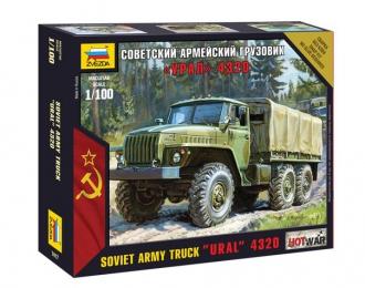 Сборная модель Советский армейский грузовик Уральский грузовик-4320