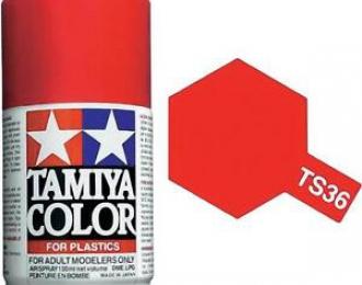 TS-36 Fluorescent Red (Флуоресцентная красная) аэрозольная краска, 100 мл. (в баллоне)