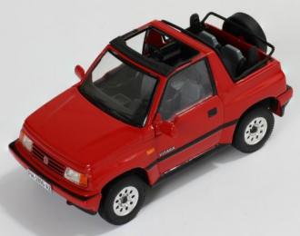 SUZUKI Vitara Convertible (1992), red