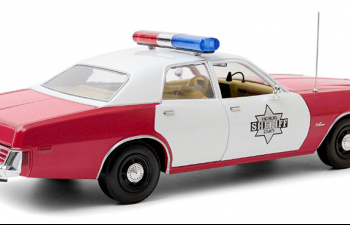 "DODGE Monaco ""Finchburg County Sheriff"" 1977 Red"