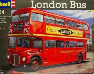 Сборная модель Лондонский автобус AEC Routemaster