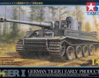 Сборная модель German Tiger I Early Production Немецкий танк Тигр I, с 88мм пушкой.