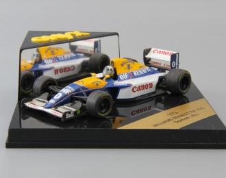WILLIAMS RENAULT FW 15 C Damon Hill #0, blue / white / yellow