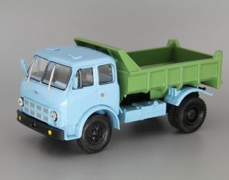 МАЗ 503А самосвал (1970), синий / зеленый