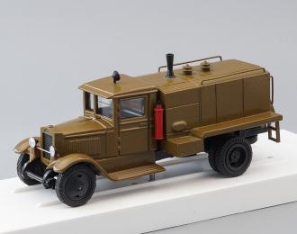 ЗИС-5В Водомаслозаправщик ВМЗ-40, хаки