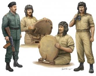 Сборная модель Солдаты  иракский танковый экипаж
