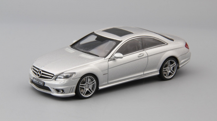 MERCEDES-BENZ CL63 AMG, silver